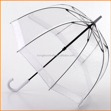 Kids Fashion Style Clear Dome Straight Clear Umbrella