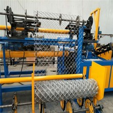 Automatic chain link fence machine price for construction equipment