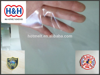 Laminating Patch Adhesive For Fabric/Patch Hot Melt Adhesive Film