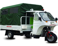 trade assurance ambulance three wheel tricycle