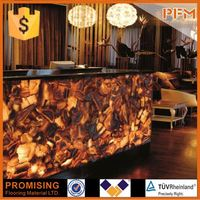 uncut agate slabs for hotel&villa project design