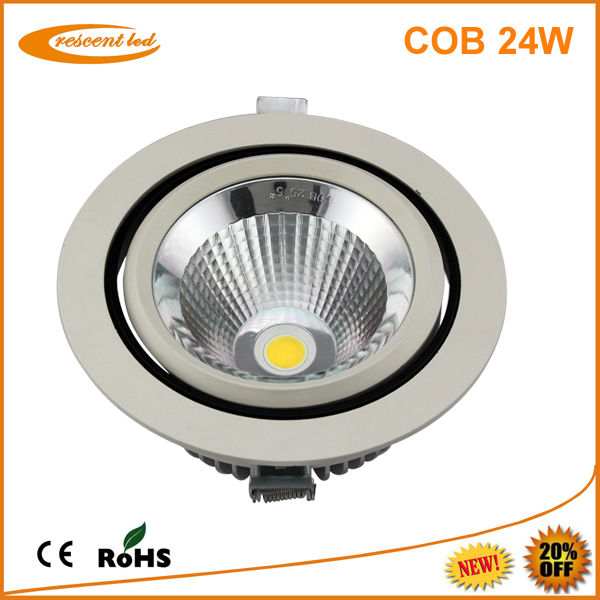 led cob downlight 230v 24w ce led downlight ceiling recessed