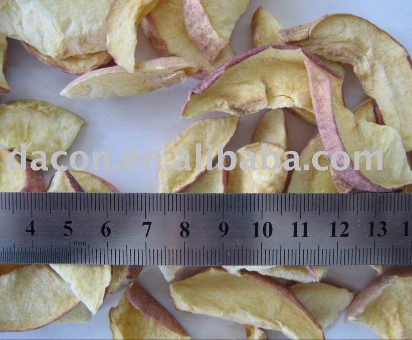 frozen dried apple flakes
