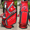 Brand top quality genuine leather golf bags