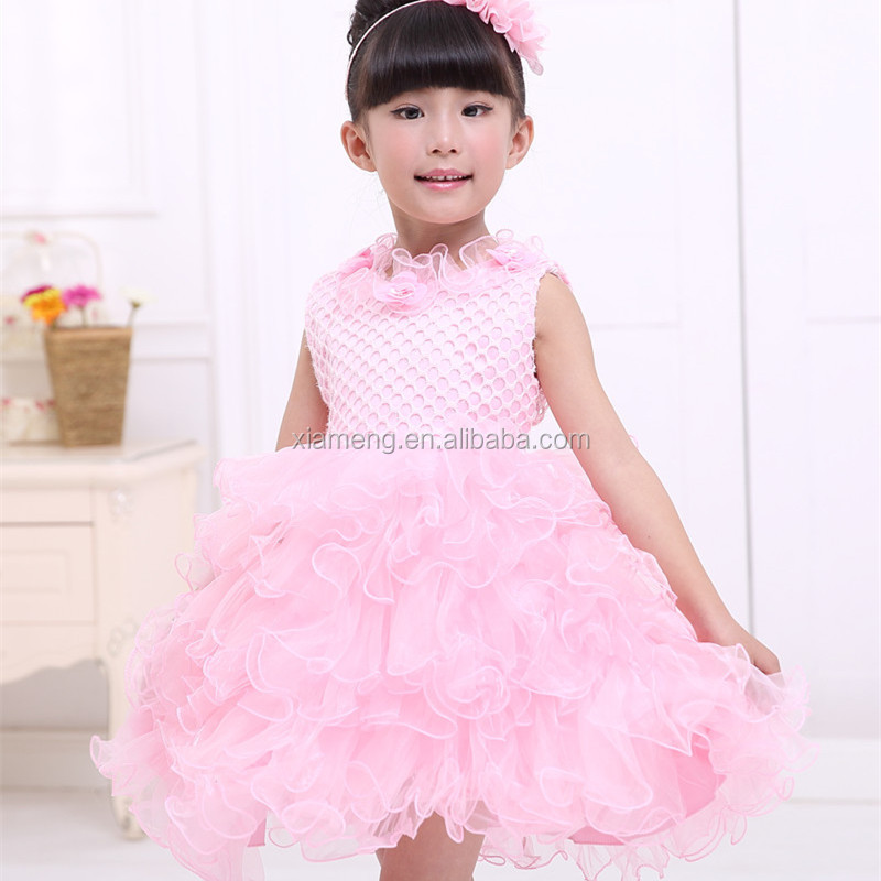 Birthday party dress evening party dress , baby girl birthday dresses , princess dresses for kid