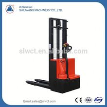 new model electric straddle stacker electrical forklift manual pallet stacker