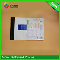 china poly bags with document enclosed wallets