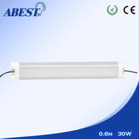 PC housing IP65 fluorescent fitting 400mm led tri-proof light 30w