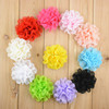 wholesale infant chiffon lace flower Charming Flowers Making For new Born Baby Headband Hair Bands