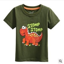 Z87416C 2015 europe style fashion latest cartoon print 100%cotton kids top t-shirts