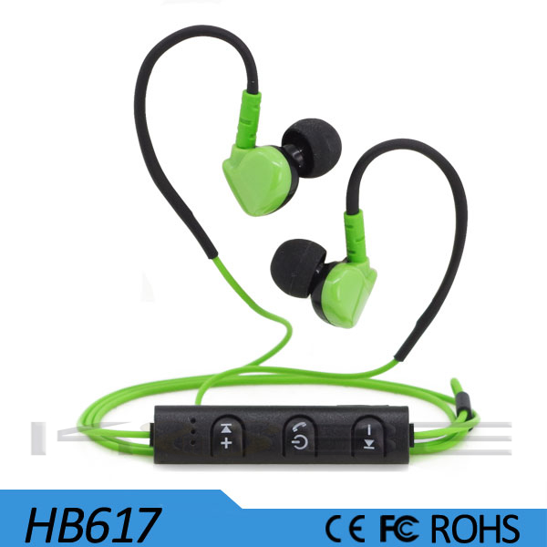 sports wireless headphone earphone mp3 player
