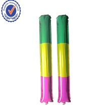 Customized Printed Inflatable Make Noise Cheering Sticks Bang Bang Sticks Clappers