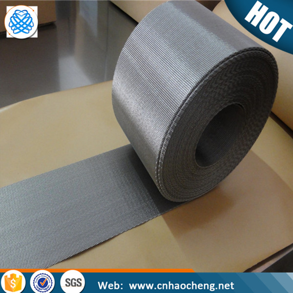 High quality 1 2 5 10 15 micron stainless steel reverse dutch wire mesh/automatic mesh belt filter