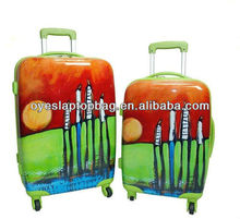 protective cover luggage with removable wheels