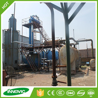 No Pollution Used Motor Oil Re-refining Plant To Diesel/Base Oil