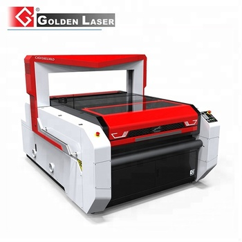 Vision Flying Scan Laser Cutter for Sublimation Printed Jerseys with Auto Feed
