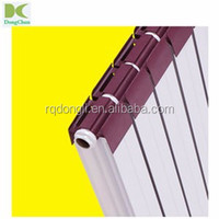 copper-aluminium radiator 75*58, central heating bimetallic radiator Height 600mm ,copper and aluminium radiator