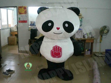 HI CE chinese manufacturer custom made panda macot costume used advertising cosplay adult wearing
