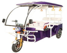 2017 new design 4-6 Persons Capacity india bajaj auto Electric Rickshaw for sale in Kolkata, India