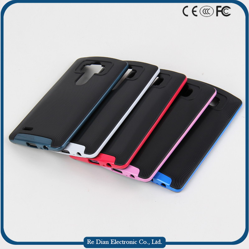 High quality factory direct sale protective tpu + pc phone case cover for LG G4