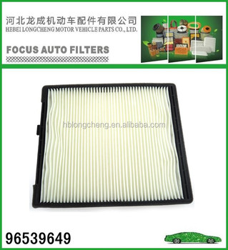 OE NO 96539649 AUTO AIR FITER FOR DAEWOO