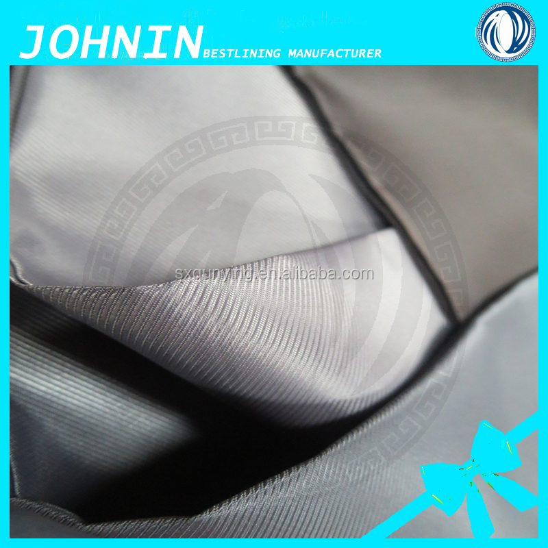 china best-selling yarn dyed polyester fabric 230t twill taffeta woven fabric for suit men