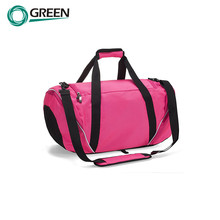 Expandable Polyester weekend travel bag with shoes compartment