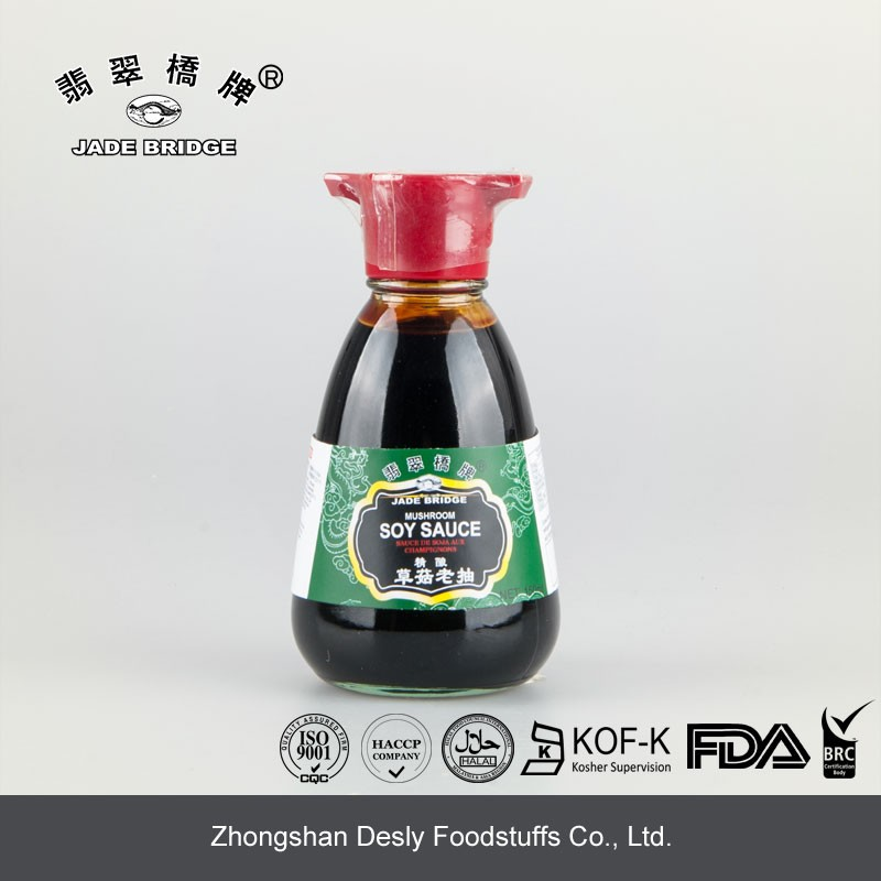 Oriental foods 150ml mini size Chinese Superior mushroom soy sauce