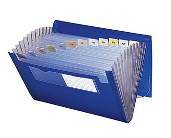 Expandable File With Organizer A3 Expanding File Folder