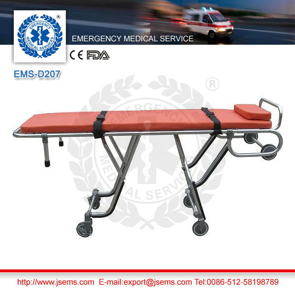 EMS-D207 emergency rescue transfer ambulance vehicle stretcher