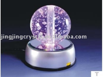 Lovely crystal glass ball with high quality in chinese markets