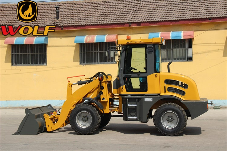 CE certification wheel loader china road construction equipment small loader