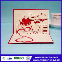 Wedding Party Decoration Paper Craft Laser Cut Wedding Invitation Card Birthday Party Greeting Card