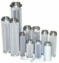 cleanable and reusable 316L stainless steel perforated cylinder filter