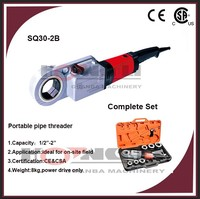 "SQ30-2B portable used pipe threading machine for sale,CE&CSA,1/2""-2"""