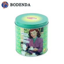 special cup mat tin box for tea coffee milk wine