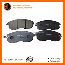 brake pads for nissan tiida D1060-JN00A