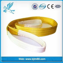 webbing sling belt type double eye type webbing sling