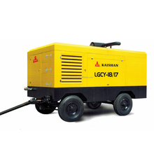 Well-known diesel engine portable screw air compressors