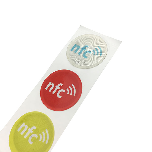 Programmable 13.56 MHZ NFC Ntag213 Rfid Sticker Tag