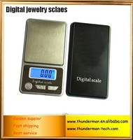 500g/ 0.1g 100g/ 0.01g Portable digital weigh jewelry scale with blue LED backlight