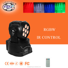 wireless pin spot light 90w led moving head light rgbw 4in1 par