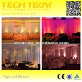 Bcakdrops decoration wedding decoration pipe and drape design decorative systems