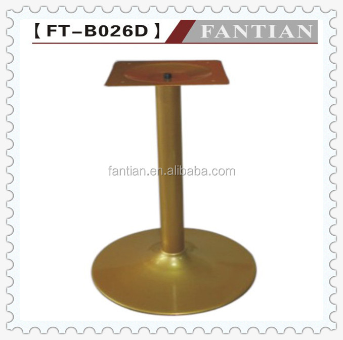 fashionable golden round table base for sale