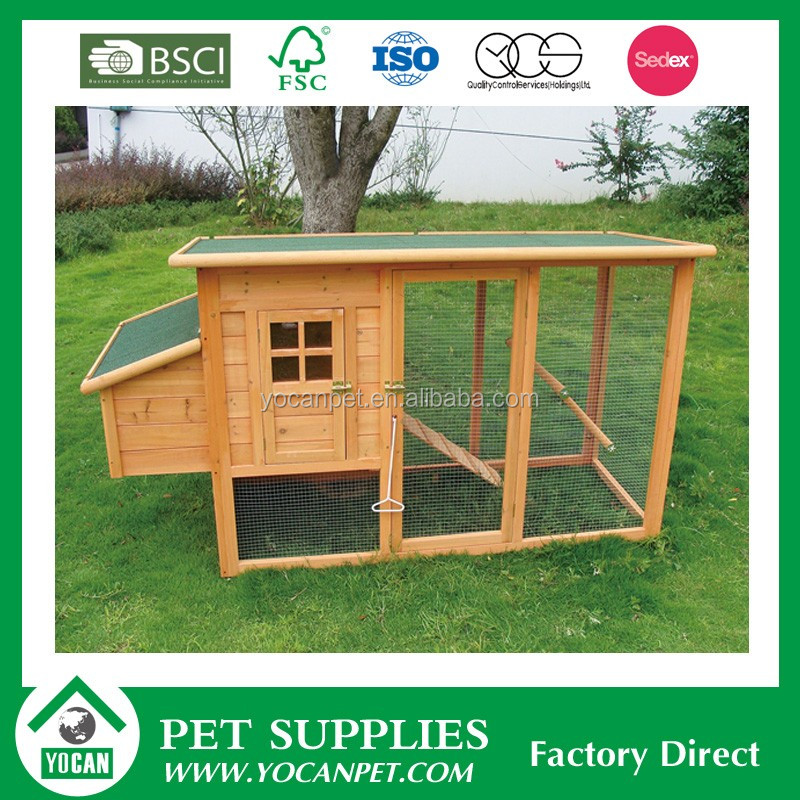 Crafts waterproof wooden cheap chicken coops for sale