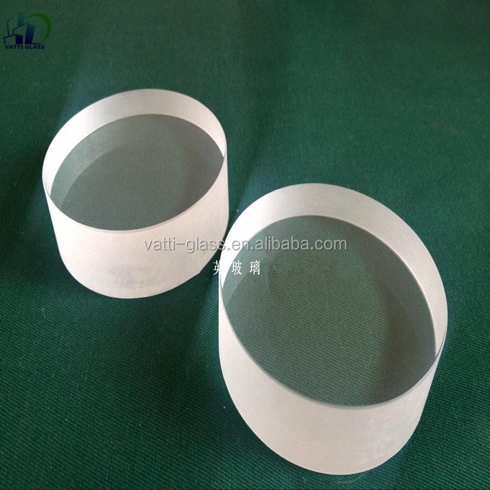 High temperature high light transmittance heavy thick quartz glass plate sight glass for furnace