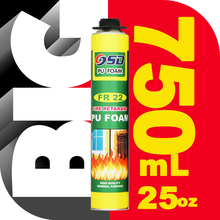 high density Expanding 750ML Fire Proof fire rated spray pu expansion foam