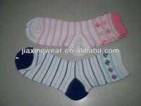 Anti-Bacterial child terry socks for footwear and promotiom,good quality fast delivery