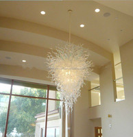 Graceful Villa Lighting Large Handmade Art Chandelier