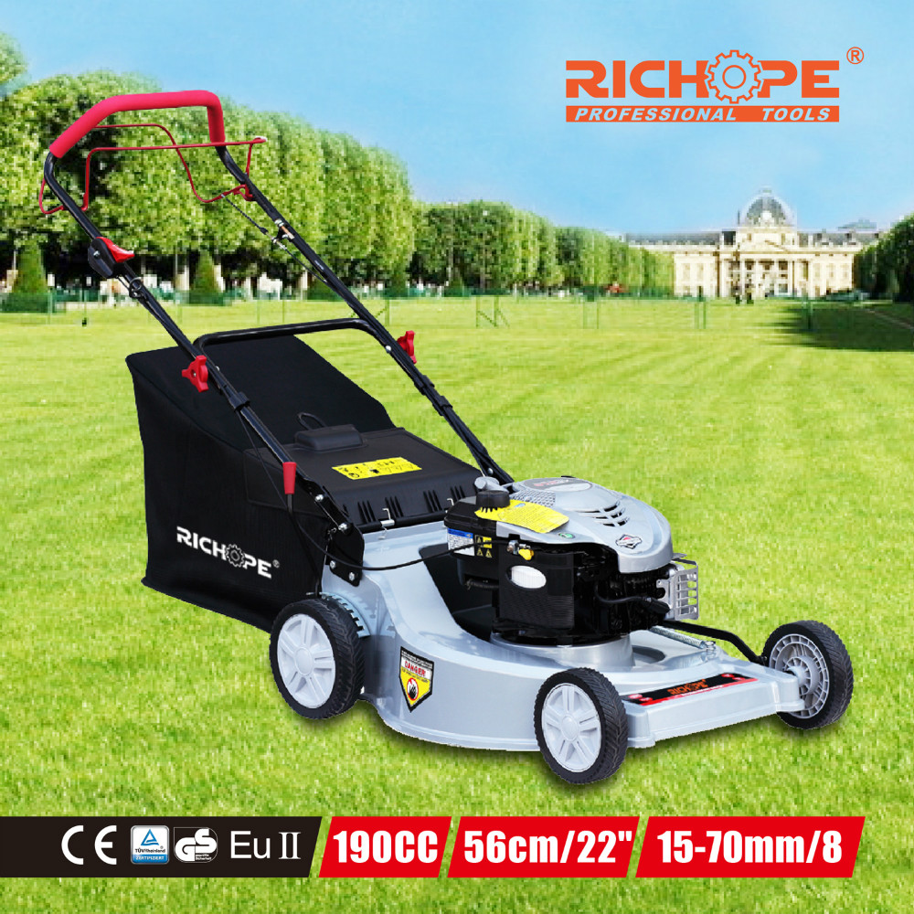 Factory manufacturer for rotary new 4wd tractor self propelled and hand push aluminum lawn mower